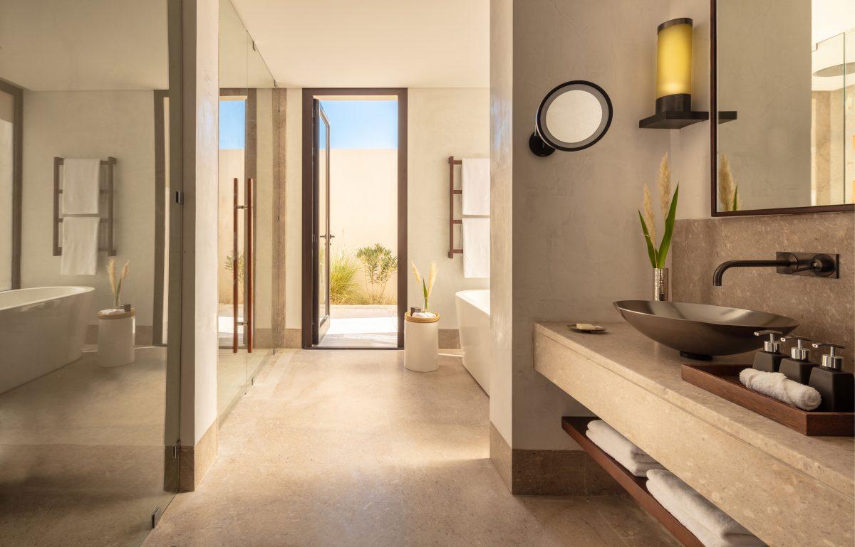 Anantara Tozeur - One Bedroom Pool Villa - Bathroom
