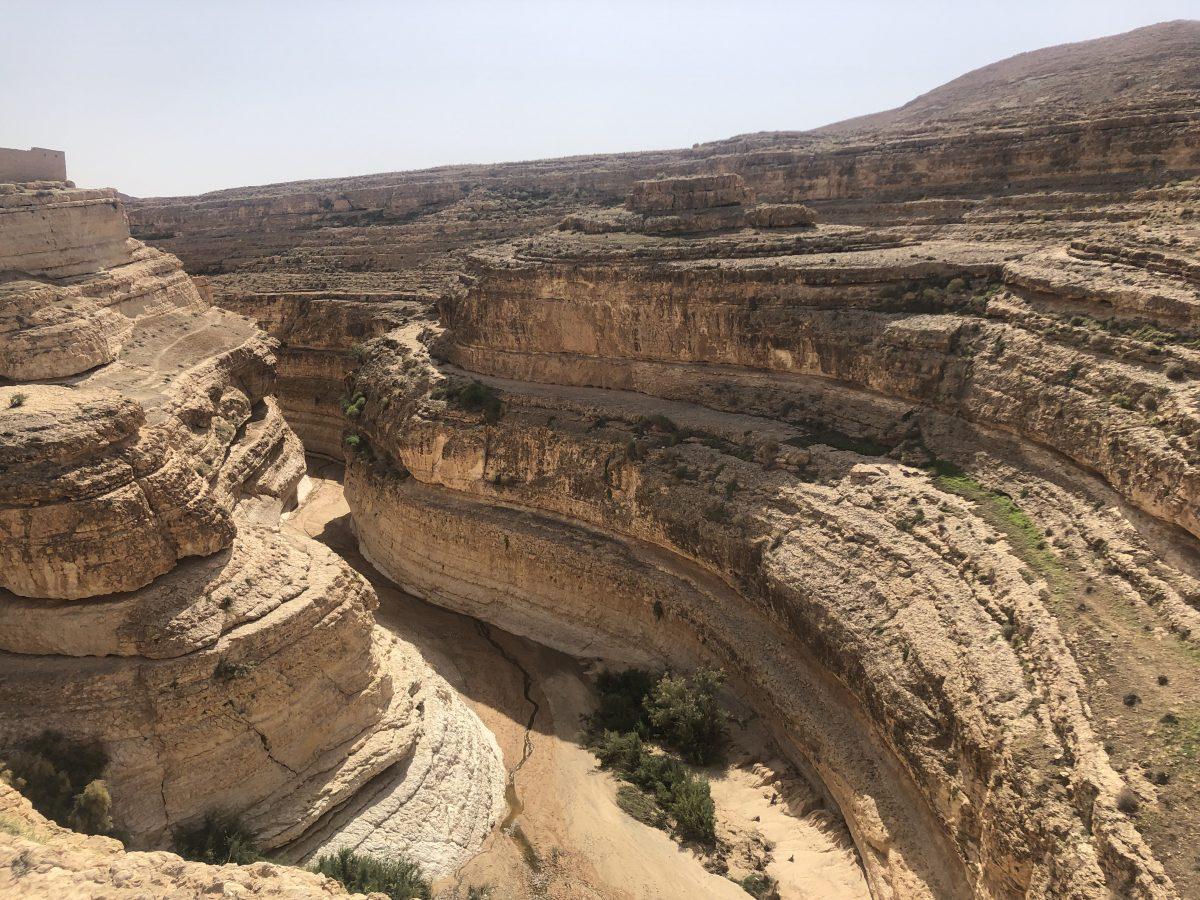 Tozeur destination - Mides Canyon