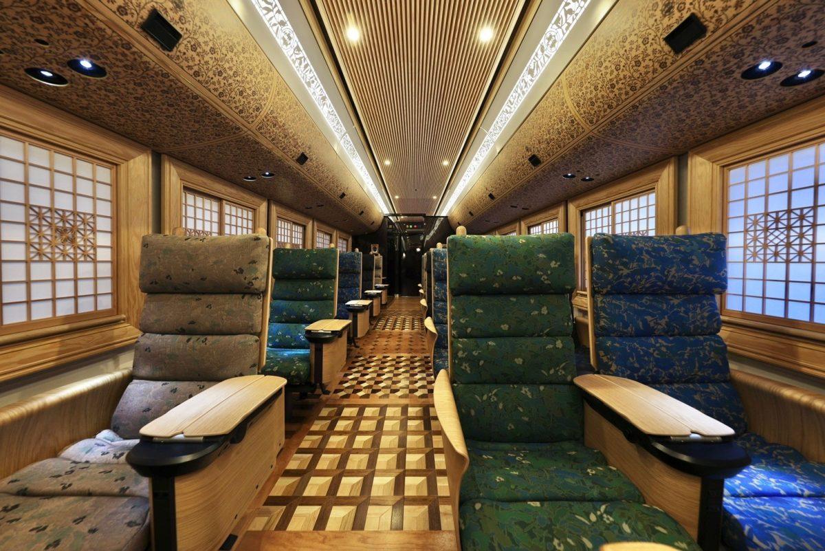 36+3 interior 3- Credit JR Kyushu