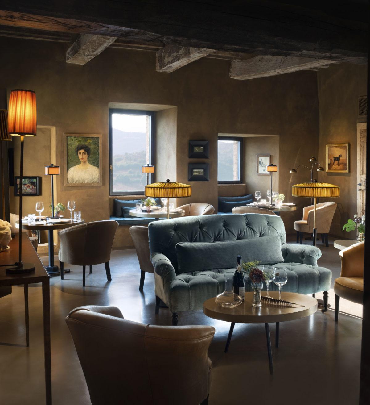 11_Hotel Castello di Reschio - Al Castello Restaurant