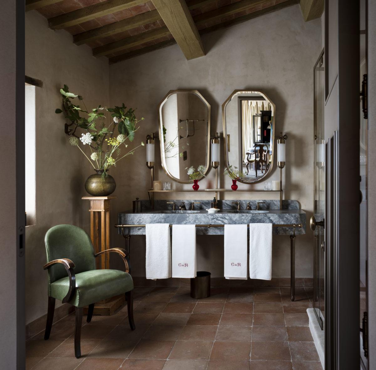 18_Bathroom suite - Hotel Castello di Reschio