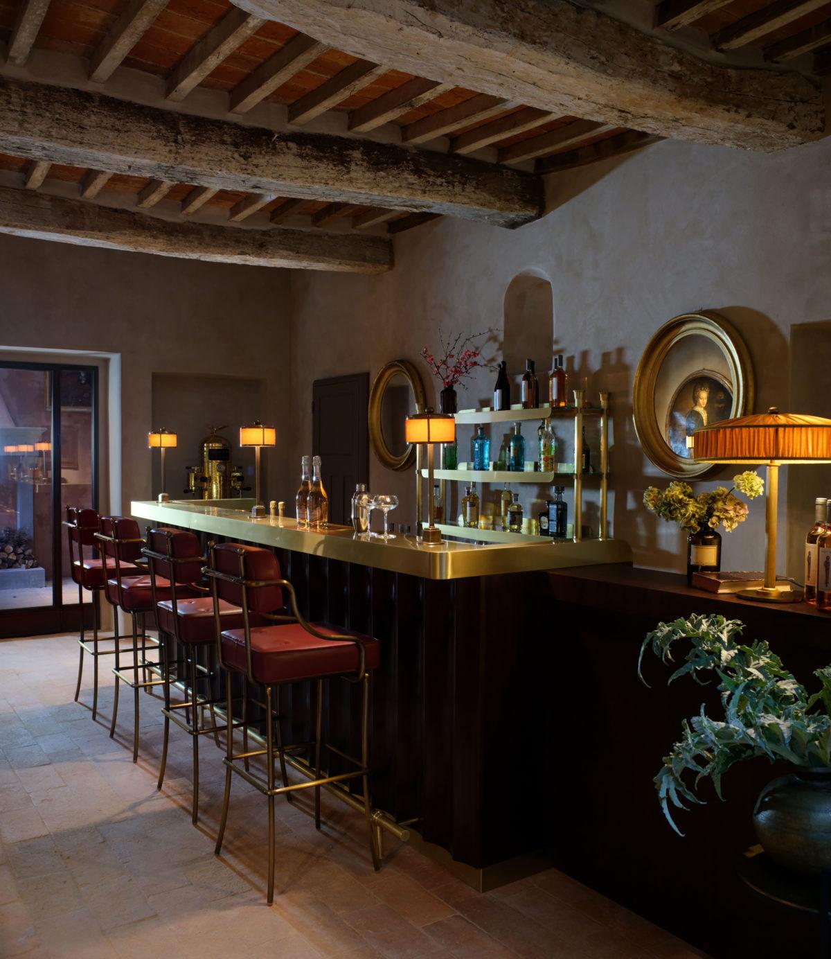 7_Hotel Castello di Reschio - The Palm Court Bar