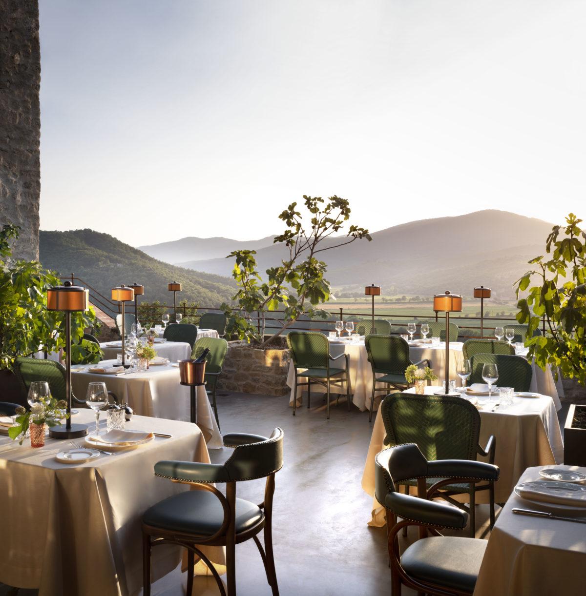 Ristorante Al Castello - The terrace - Hotel Castello di Reschio